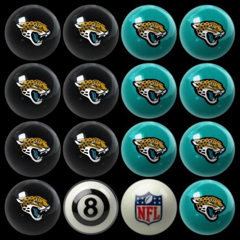 Jacksonville Jaguars NFL Home vs. Away Pool Ball Set