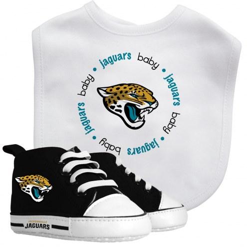 Jacksonville Jaguars Infant Bib & Shoes Gift Set