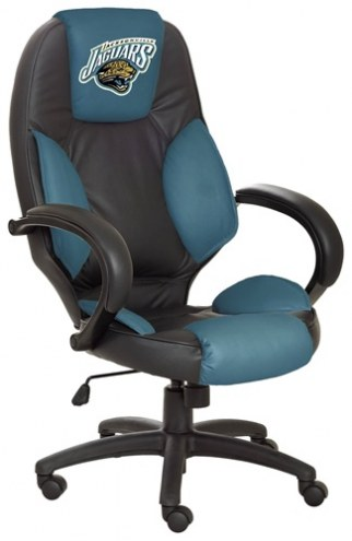 Jacksonville Jaguars NFL Leather Office Chair