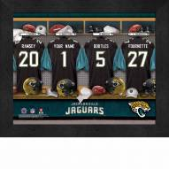 Jacksonville Jaguars NFL Personalized Locker Room 11 x 14 Framed Photograph