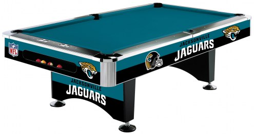 Jacksonville Jaguars NFL Pool Table