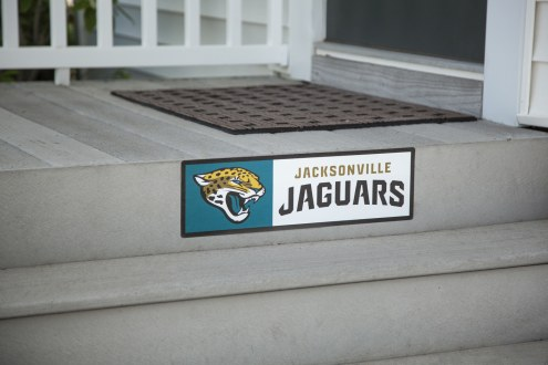 Jacksonville Jaguars Outdoor Step Graphic