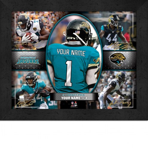 Jacksonville Jaguars Personalized Framed Action Collage