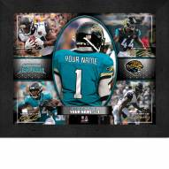 Jacksonville Jaguars Personalized 11 x 14 Framed Action Collage