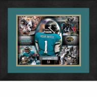 Jacksonville Jaguars Personalized 13 x 16 Framed Action Collage