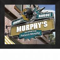 Jacksonville Jaguars 11 x 14 Personalized Framed Sports Pub Print