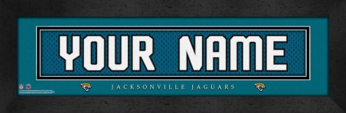 Jacksonville Jaguars Personalized Stitched Jersey Print