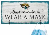 Jacksonville Jaguars Please Wear Your Mask Sign