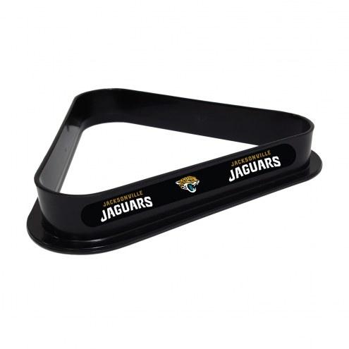 Jacksonville Jaguars Pool 8 Ball Rack