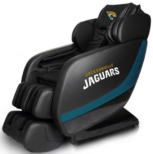 Jacksonville Jaguars Professional 3D Massage Chair