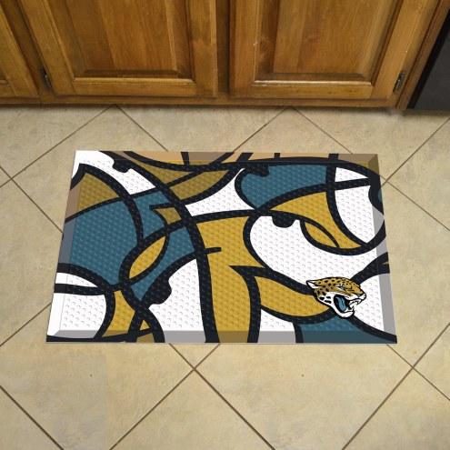Jacksonville Jaguars Quicksnap Scraper Door Mat