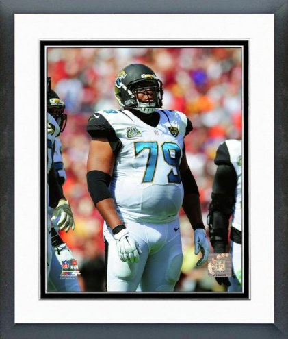 Jacksonville Jaguars Red Bryant 2014 Action Framed Photo