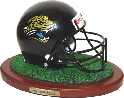 Jacksonville Jaguars Collectible Football Helmet Figurine