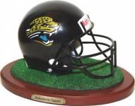 Jacksonville Jaguars Collectible Football Helmet Figurine