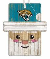 Jacksonville Jaguars Santa Ornament
