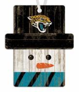 Jacksonville Jaguars Snowman Ornament
