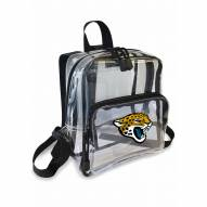Jacksonville Jaguars Stadium Friendly Clear Mini Backpack
