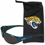 Jacksonville Jaguars Sunglasses and Bag Set
