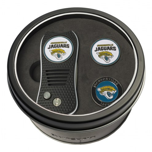 Jacksonville Jaguars Switchfix Golf Divot Tool & Ball Markers