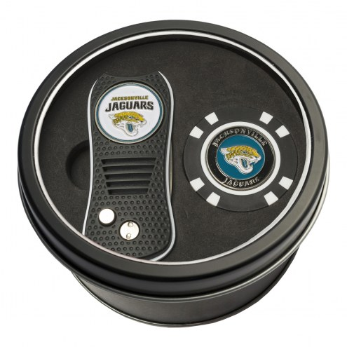 Jacksonville Jaguars Switchfix Golf Divot Tool & Chip