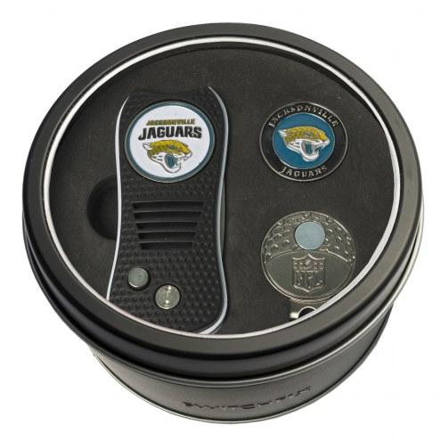 Jacksonville Jaguars Switchfix Golf Divot Tool, Hat Clip, & Ball Marker