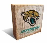 Jacksonville Jaguars Team Logo Block