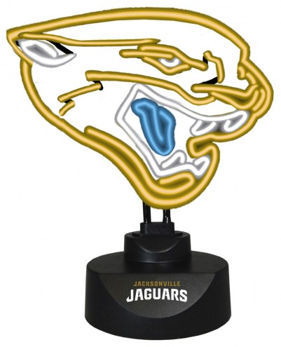 Jacksonville Jaguars Team Logo Neon Lamp