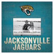 "Jacksonville Jaguars Team Name 10"""" x 10"""" Picture Frame"