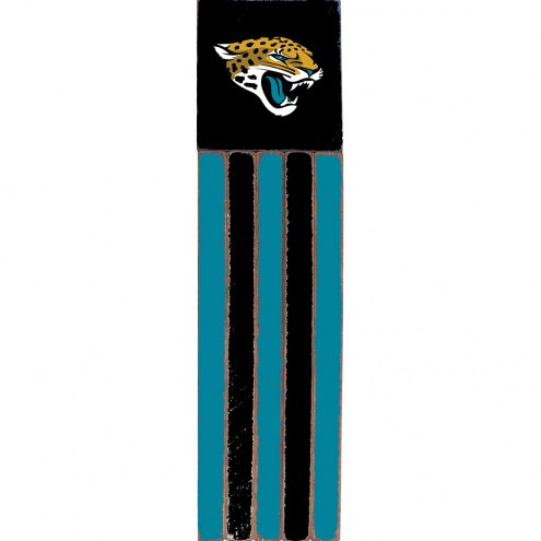 Jacksonville Jaguars Vertical Flag Wall Sign