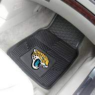 Jacksonville Jaguars Vinyl 2-Piece Car Floor Mats