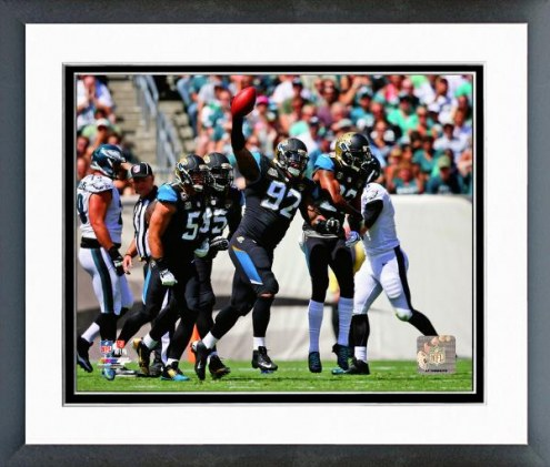 Jacksonville Jaguars Ziggy Hood Action Framed Photo