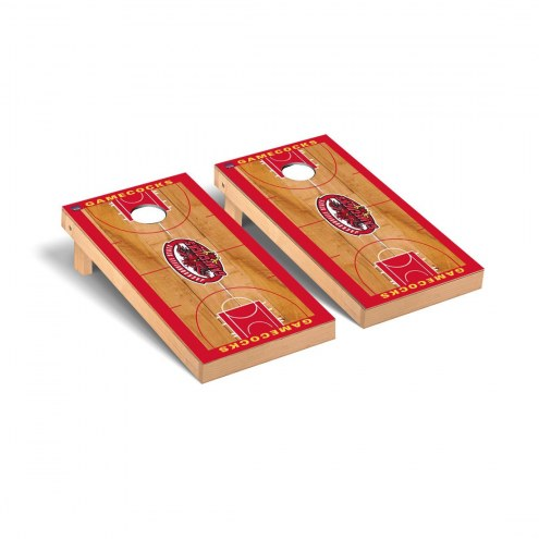 Jacksonville State Gamecocks Basketball Court Cornhole Game Set