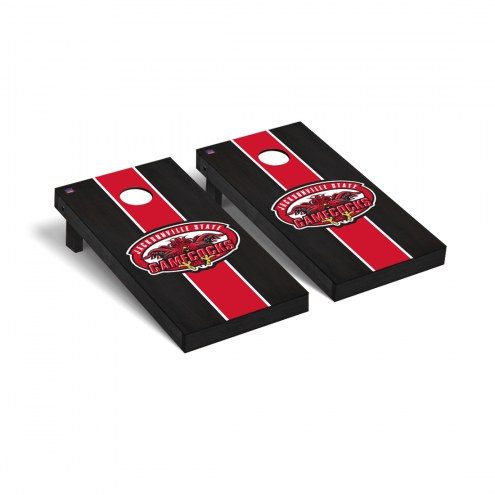 Jacksonville State Gamecocks Onyx Stained Cornhole Game Set