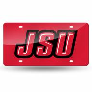 Jacksonville State Gamecocks Laser Cut License Plate