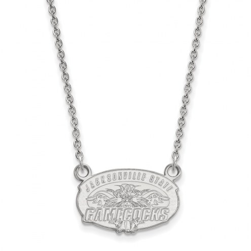 Jacksonville State Gamecocks Sterling Silver Small Pendant Necklace