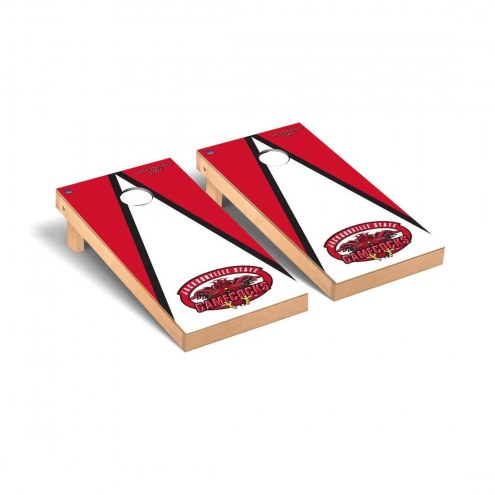 Jacksonville State Gamecocks Triangle Cornhole Game Set