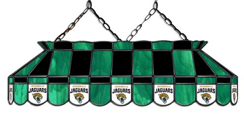"Jacksonville Jaguars NFL Team 40"" Rectangular Stained Glass Shade"