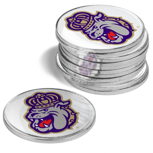 James Madison Dukes 12-Pack Golf Ball Markers