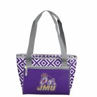 James Madison Dukes 16 Can Cooler Tote