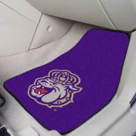 James Madison Dukes 2-Piece Carpet Car Mats