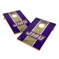 James Madison Dukes 2' x 3' Vintage Wood Cornhole Game