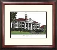 James Madison Dukes Alumnus Framed Lithograph