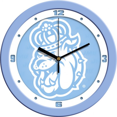 James Madison Dukes Baby Blue Wall Clock