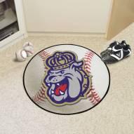 James Madison Dukes Baseball Rug