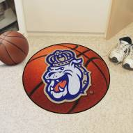James Madison Dukes Basketball Mat