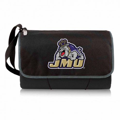 James Madison Dukes Black Blanket Tote