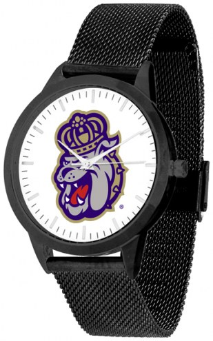 James Madison Dukes Black Mesh Statement Watch