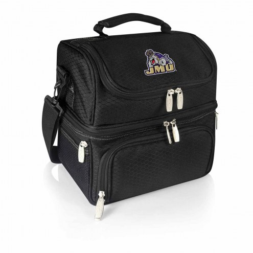 James Madison Dukes Black Pranzo Insulated Lunch Box