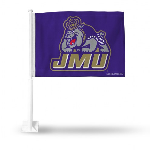 James Madison Dukes Car Flag