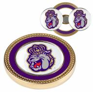 James Madison Dukes Challenge Coin with 2 Ball Markers